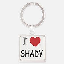 SHADY Square Keychain