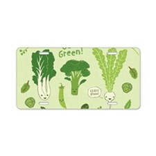 gogreenskin Aluminum License Plate
