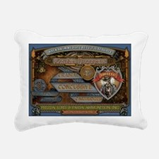 zombiedroppersz Rectangular Canvas Pillow