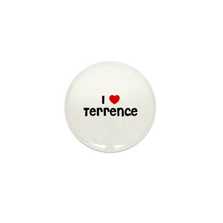 I * Terrence Mini Button (10 pack)