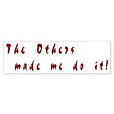 The Others - Bumper Car Sticker