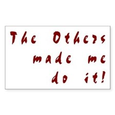 The Others - Rectangle Decal