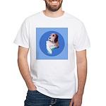 Italian Spinone White T-Shirt