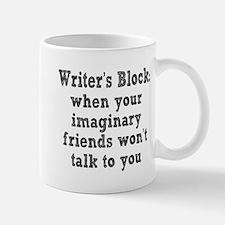 writers-block3.png Stainless Steel Travel Mugs