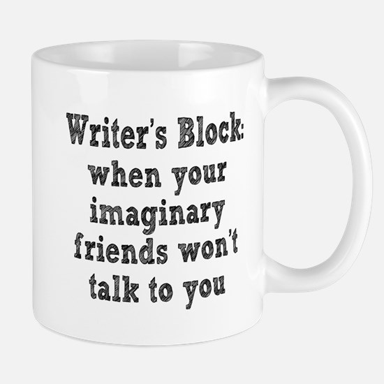 writers-block3.png Stainless Steel Travel Mugs
