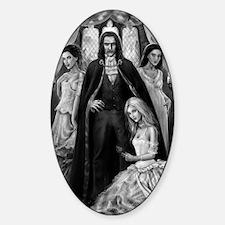 dracula and his ladies Decal
