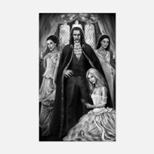 dracula and his ladies Decal