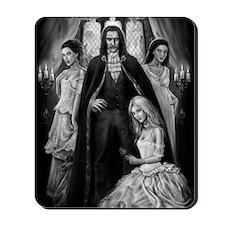 dracula and his ladies Mousepad