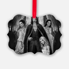 dracula and his ladies wide Ornament