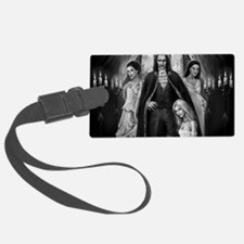 dracula and his ladies wide Luggage Tag