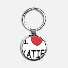 KATIE Round Keychain