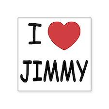 "JIMMY Square Sticker 3"" x 3"""