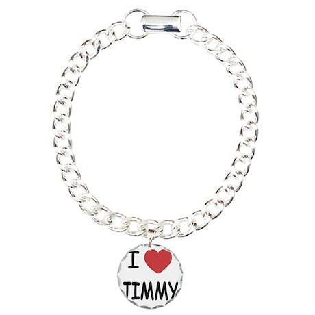 JIMMY Charm Bracelet, One Charm