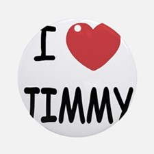 JIMMY Round Ornament