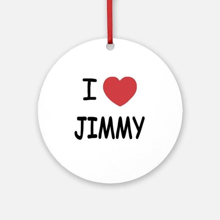 JIMMY Round Ornament