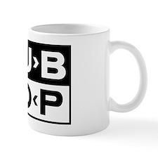 Dub Hop Black PaintNet Small Mug