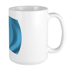 Wavy Kazakhstan Flag Mug