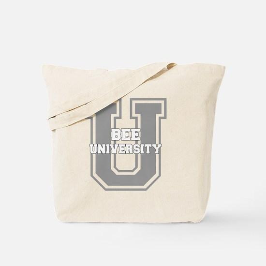 beeu_black Tote Bag