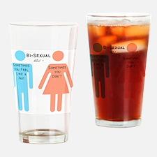 Bi-sexual Drinking Glass