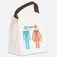Bi-sexual Canvas Lunch Bag