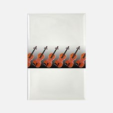 Violas on Parade Rectangle Magnet