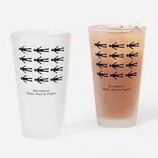 Savasana Dead Mans Party Drinking Glass