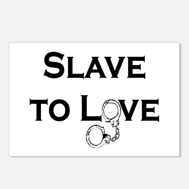 SLAVE TO LOVE Postcards (Package of 8)