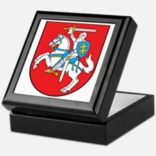 Lithuania Coat of Arms Keepsake Box