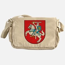 Lithuania Coat of Arms Messenger Bag