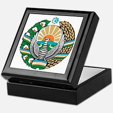 Uzbekistan Coat of Arms Keepsake Box