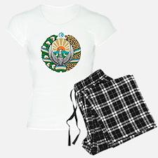 Uzbekistan Coat of Arms Pajamas