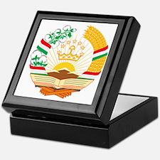 Tajikistan Coat of Arms Keepsake Box