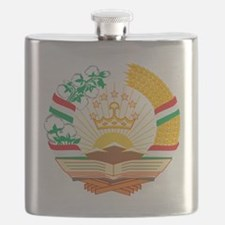 Tajikistan Coat of Arms Flask