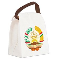 Tajikistan Coat of Arms Canvas Lunch Bag