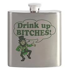 DUB99383Leprechaun Flask