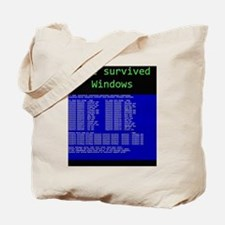 survived womdpw Tote Bag