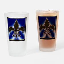 Fleur-de-lis Drinking Glass