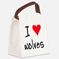 iheartwolves Canvas Lunch Bag