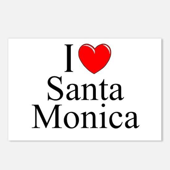 """I Love Santa Monica"" Postcards (Package of 8)"