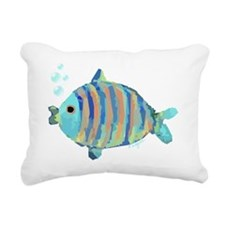 Big Fish Rectangular Canvas Pillow