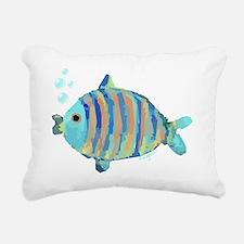 Big Fish Rectangular Canvas Pillow
