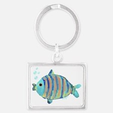 Big Fish Landscape Keychain
