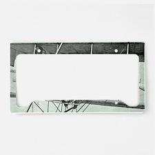 axelFlying License Plate Holder