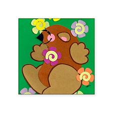 "E goundhogs day 2012 Square Sticker 3"" x 3"""