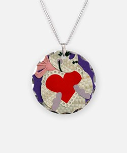 valentine rhino 2012 Necklace Circle Charm
