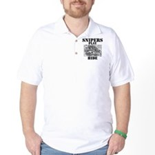 Art_Snipers play hide black2 T-Shirt
