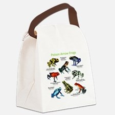 Poison Dart Frogs of the Amazon Canvas Lunch Bag