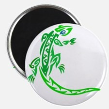 lizard_1 green 7x8 right Magnet