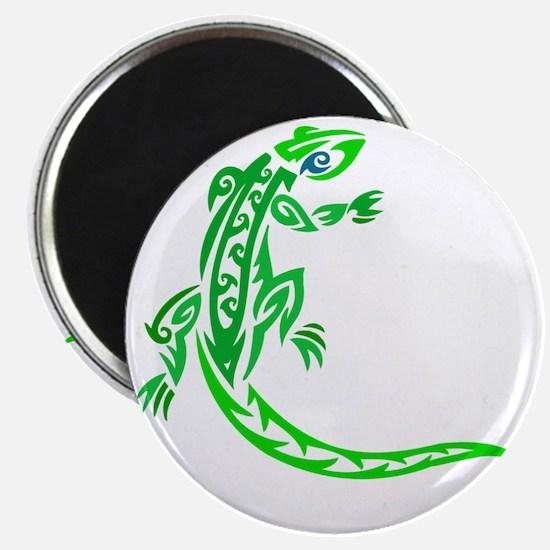lizard_1 green 7x8 right Magnet