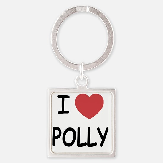 POLLY Square Keychain